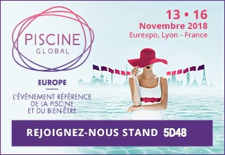 We will be at the swimming pool event in Lyon, France